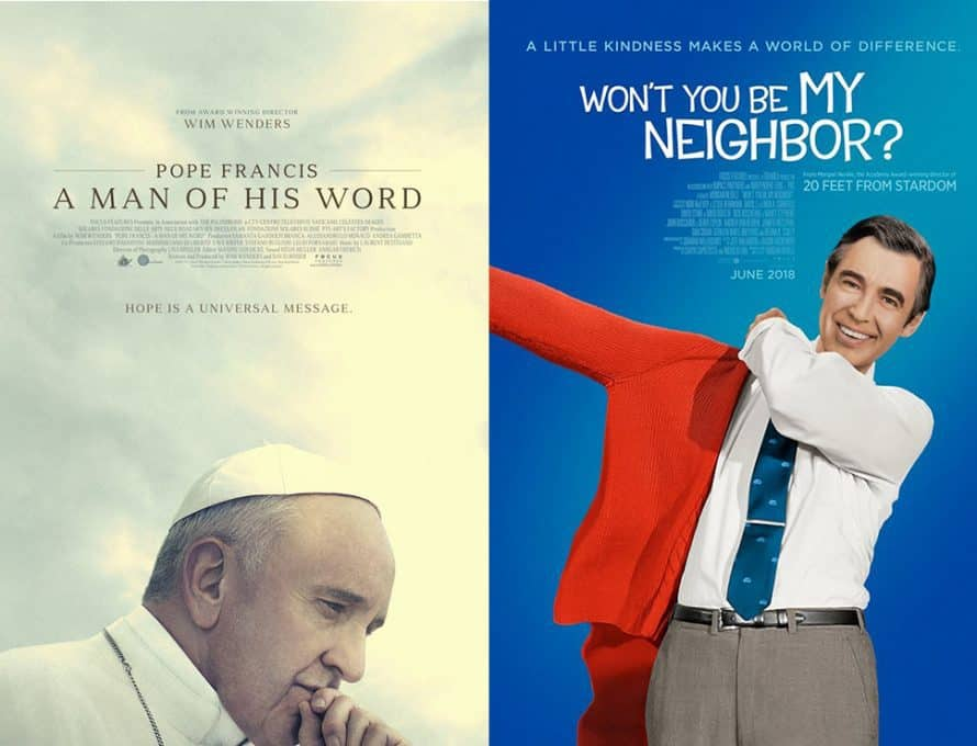 A Tale Of Two Documentaries Pope Francis Mr Rogers Movies Offer Differing Pictures Of Good Men